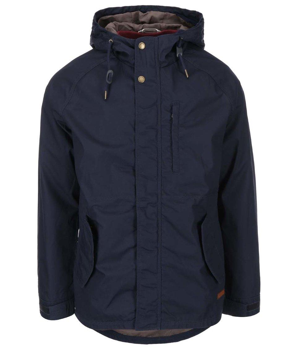 Tmavě modrá bunda s vnitřní vestou Jack & Jones Aron