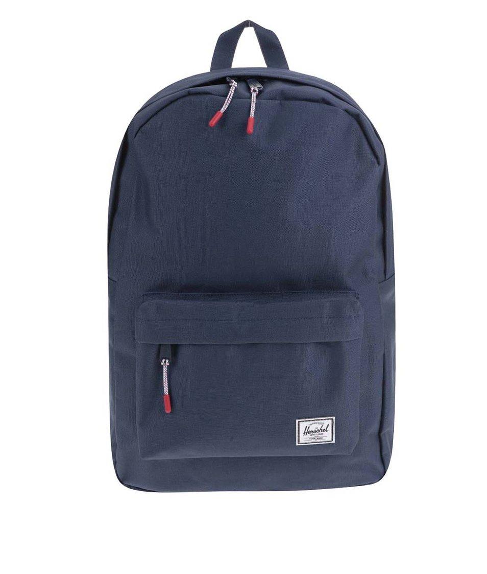 Tmavě modrý batoh Herschel Classic Mid-Volume