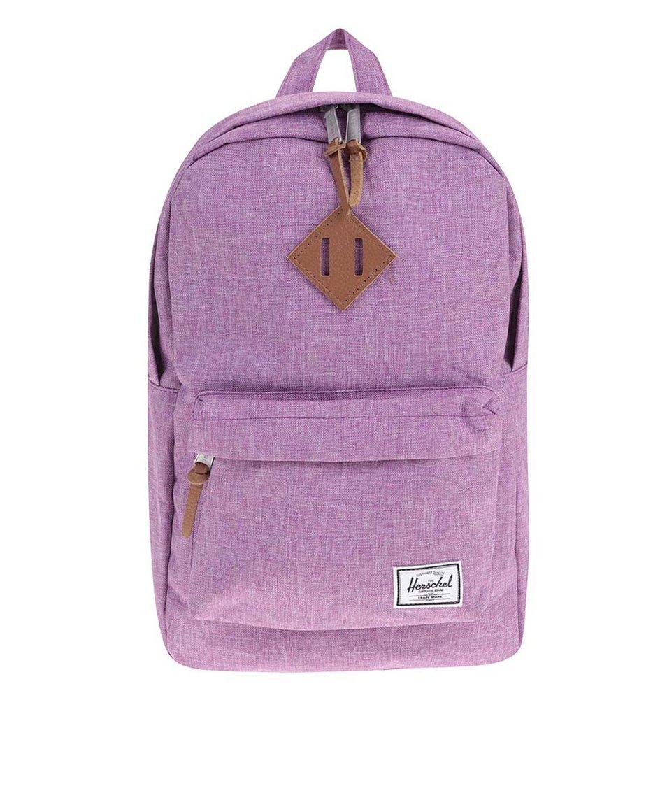 Tmavě růžový batoh Herschel Heritage Mid-Volume