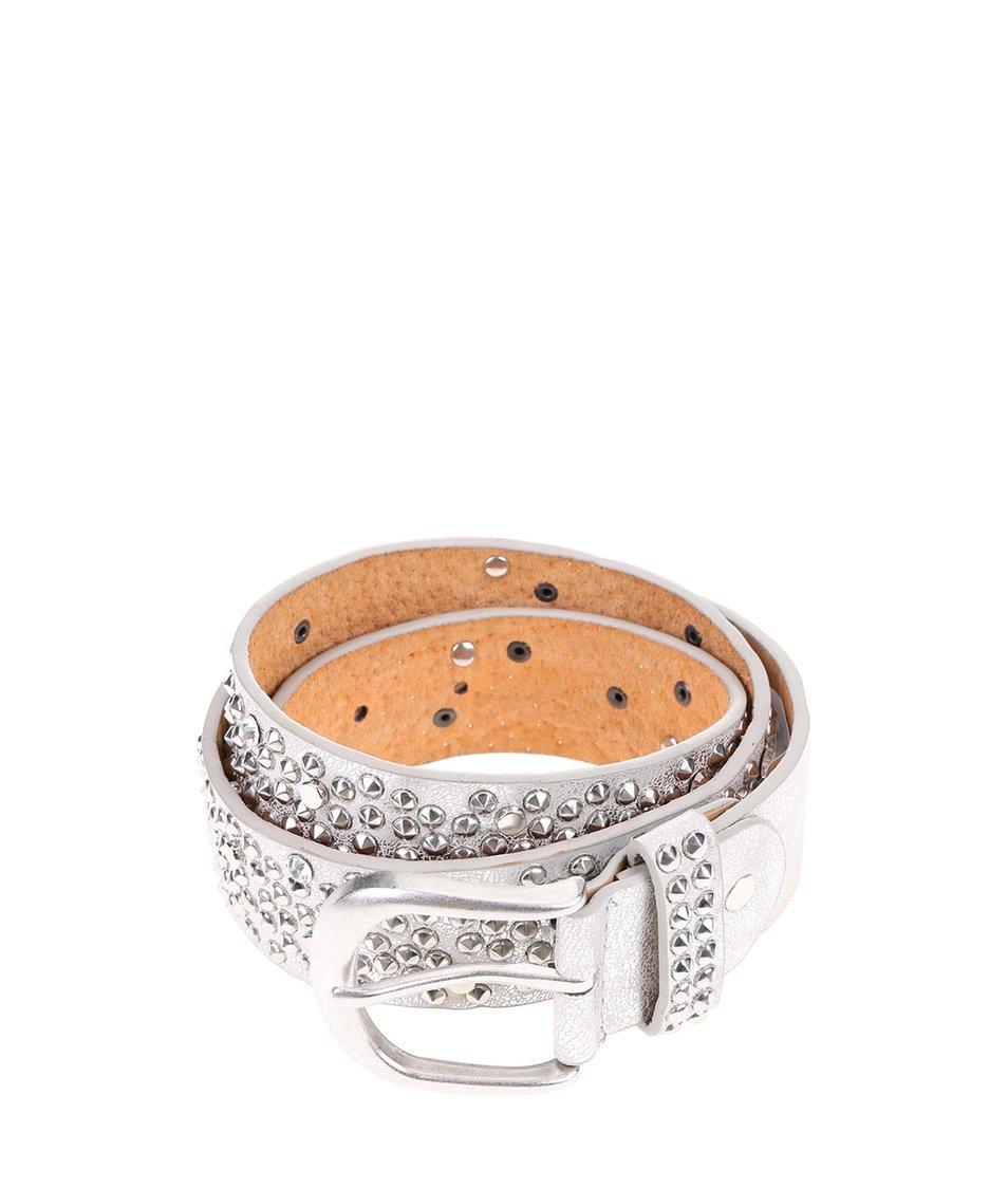 Stříbrný pásek s cvočky Haily´s Bibi