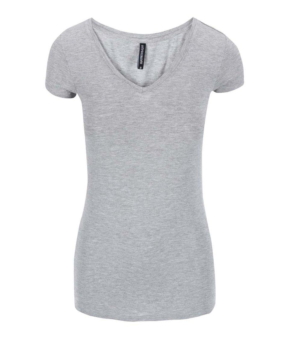 Šedé tričko s krátkým rukávem Haily´s Sophie