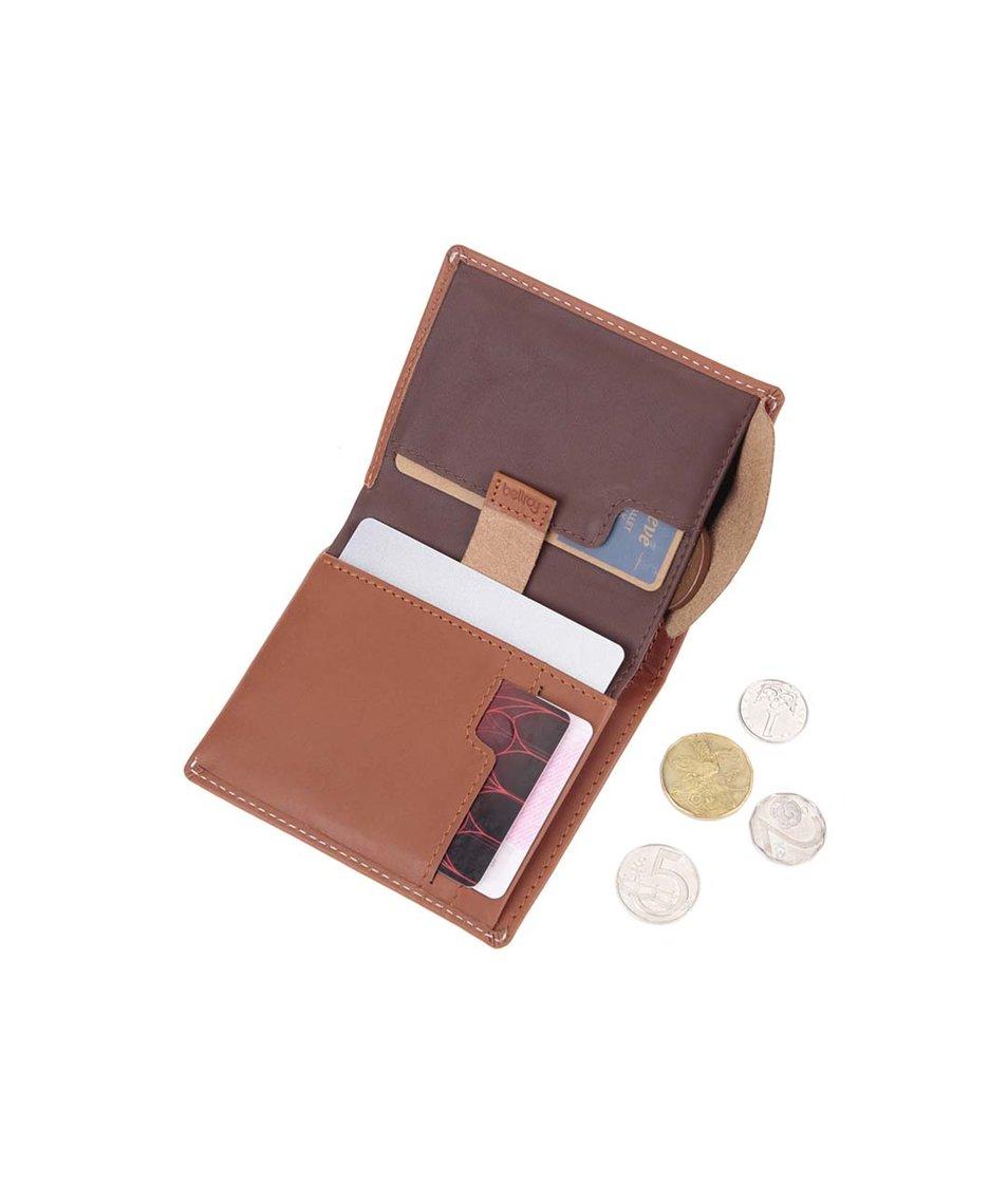 Světle hnědá kožená peněženka Bellroy Note Sleeve