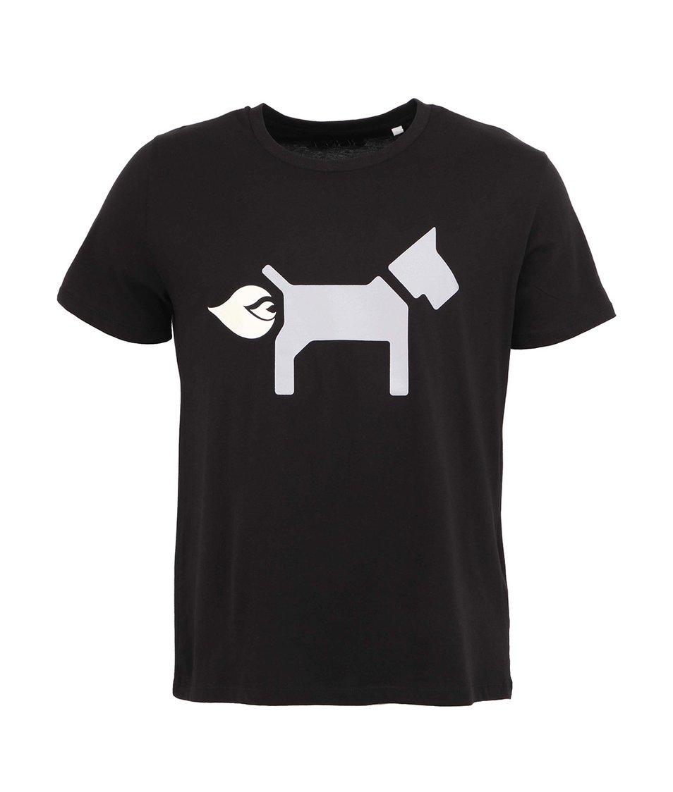 Černé pánské triko ZOOT Signal Dog Light