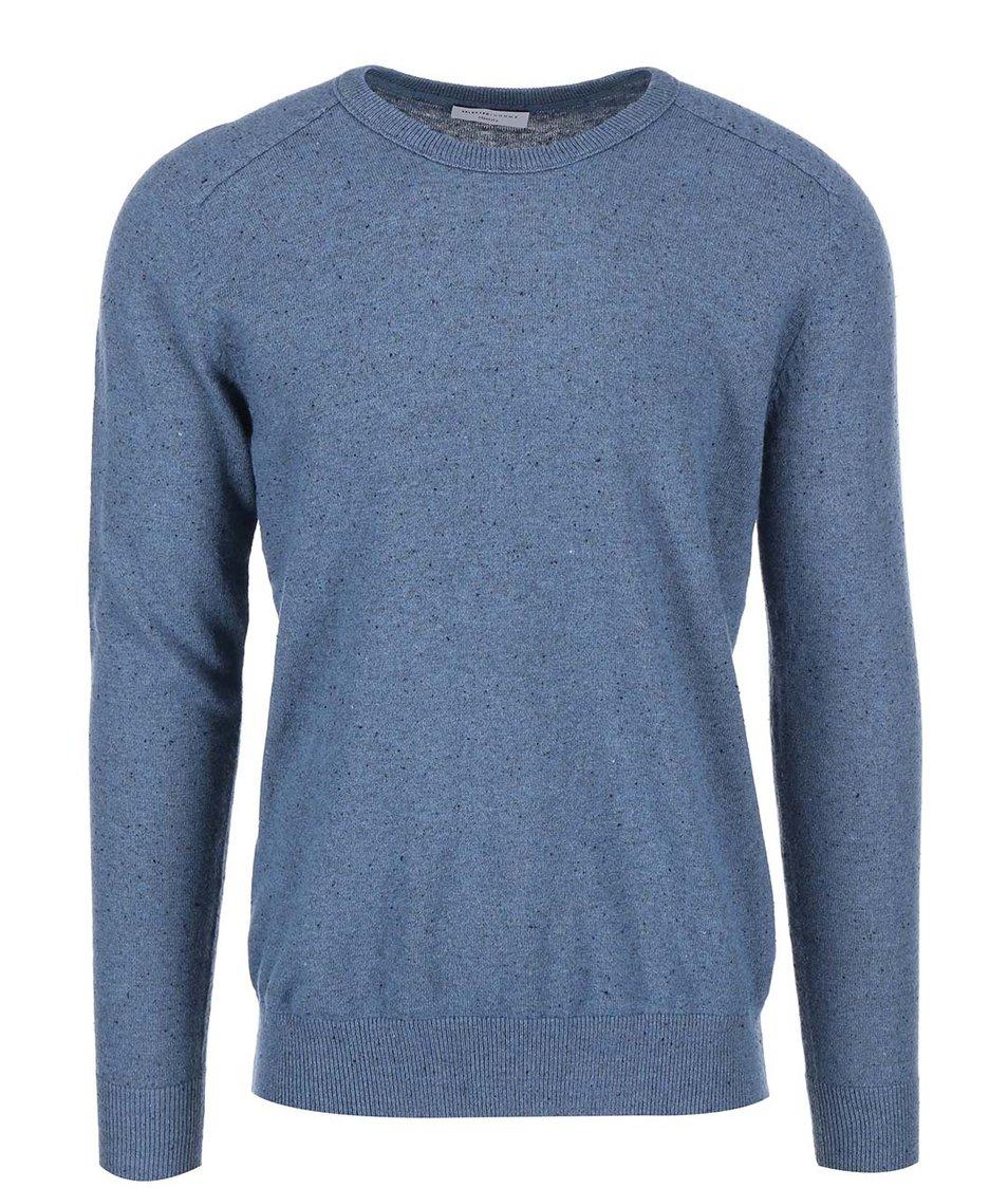 Modrý pánský svetr Selected Josh