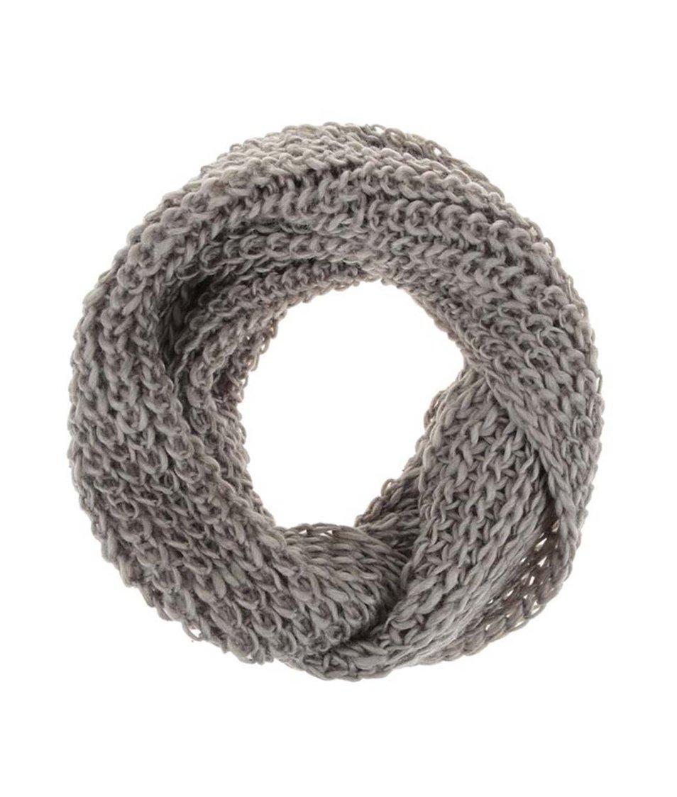 Khaki dutá šála Haily´s Strick