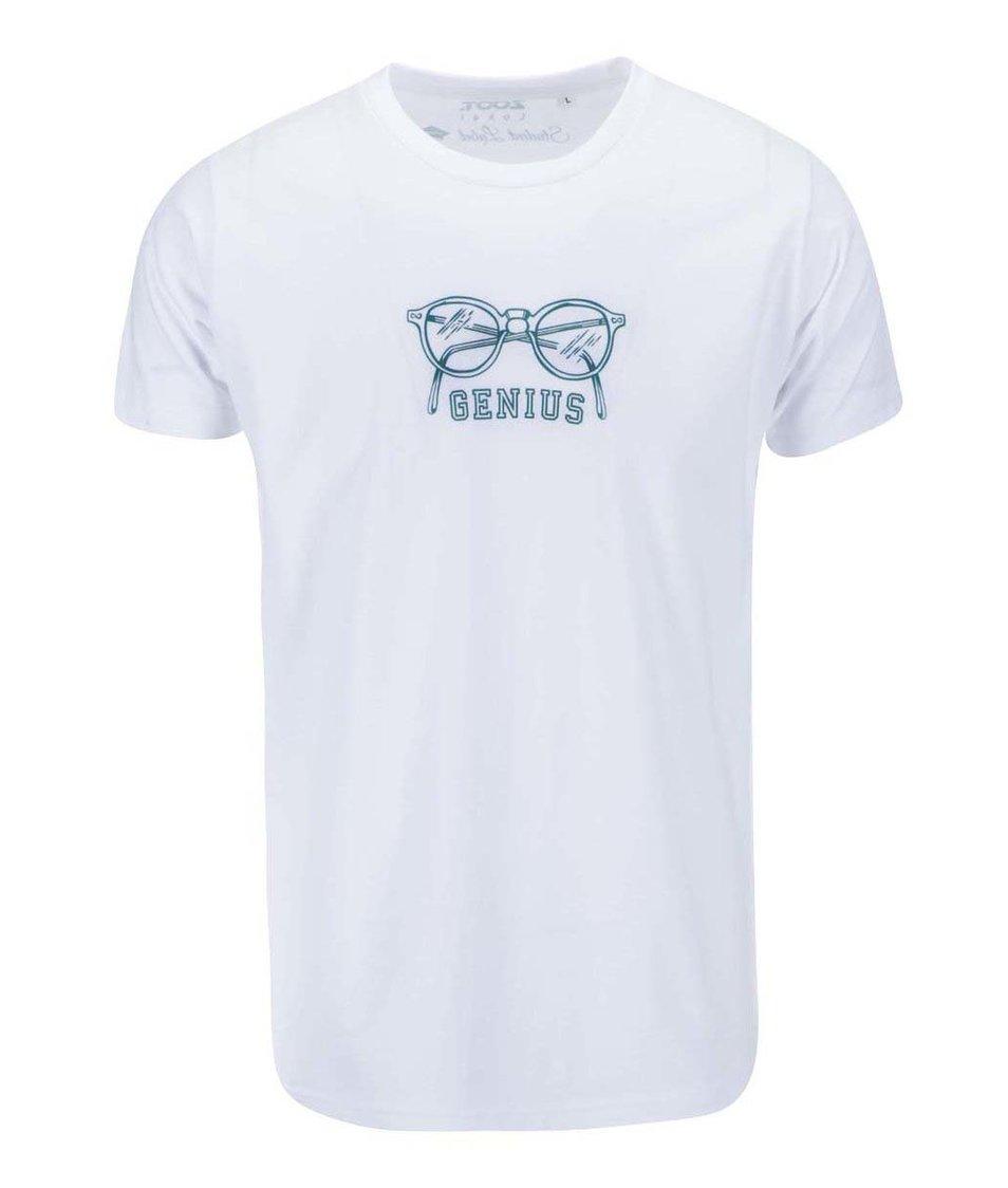 Bílé pánské triko ZOOT Lokál Genius