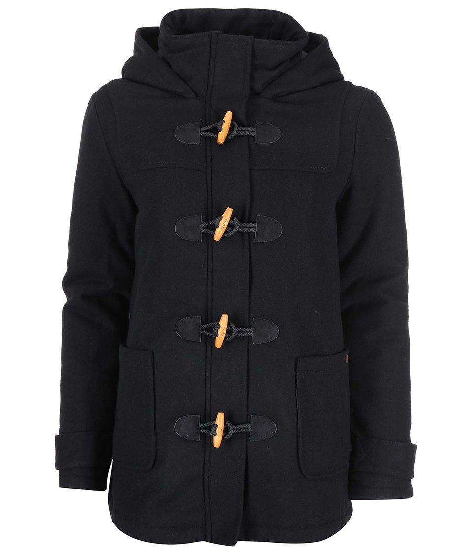 Černá dámská bunda s kapucí Desires Renna