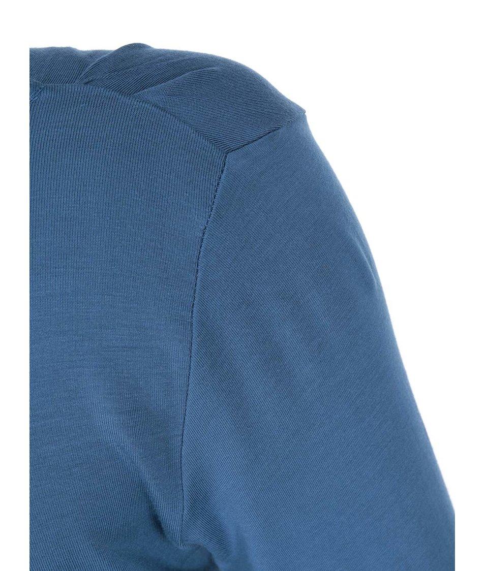 Tmavě modré těhotenské šaty Mama.licious Elsa