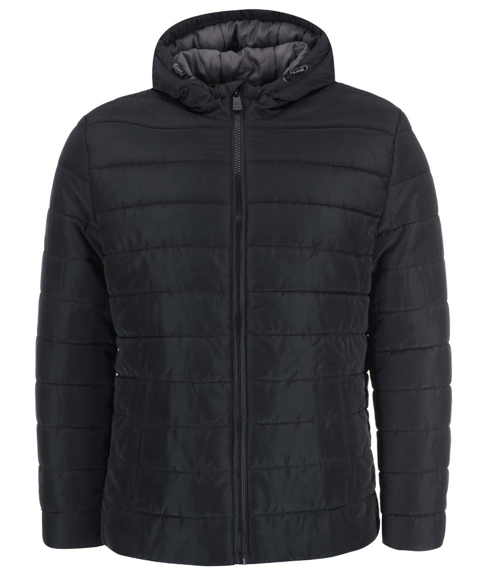 Černá prošívaná bunda ONLY & SONS Lester