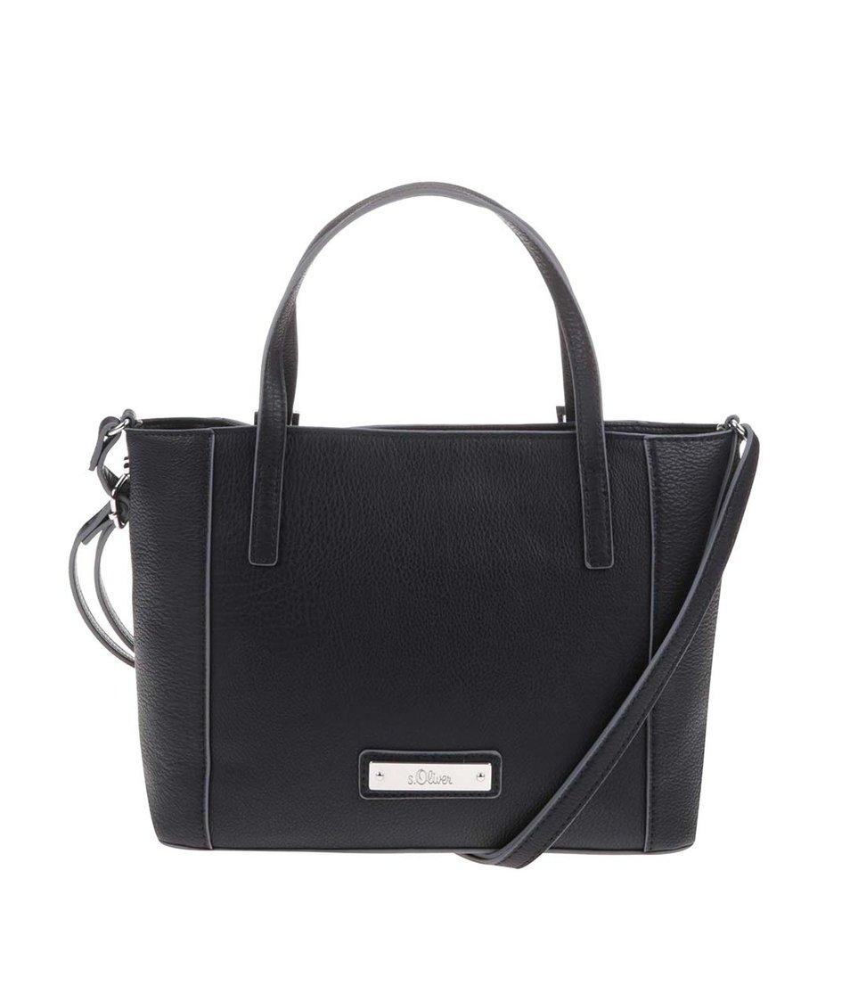 Černá menší kabelka s.Oliver