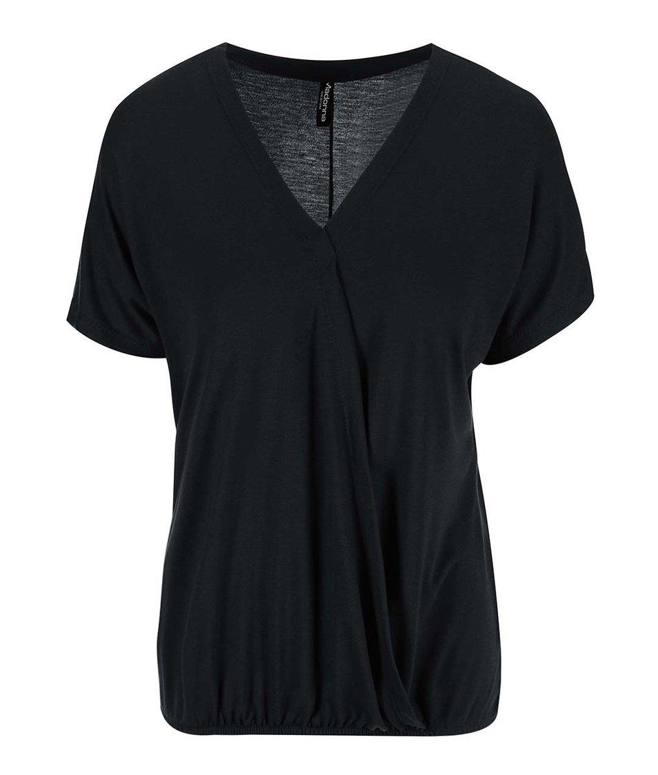 Černé volné tričko Madonna Priya