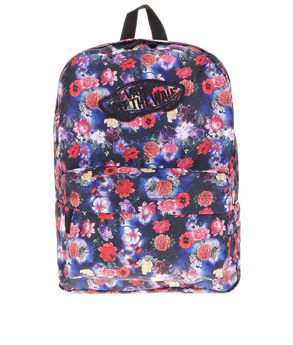 Barevný květovaný batoh Vans