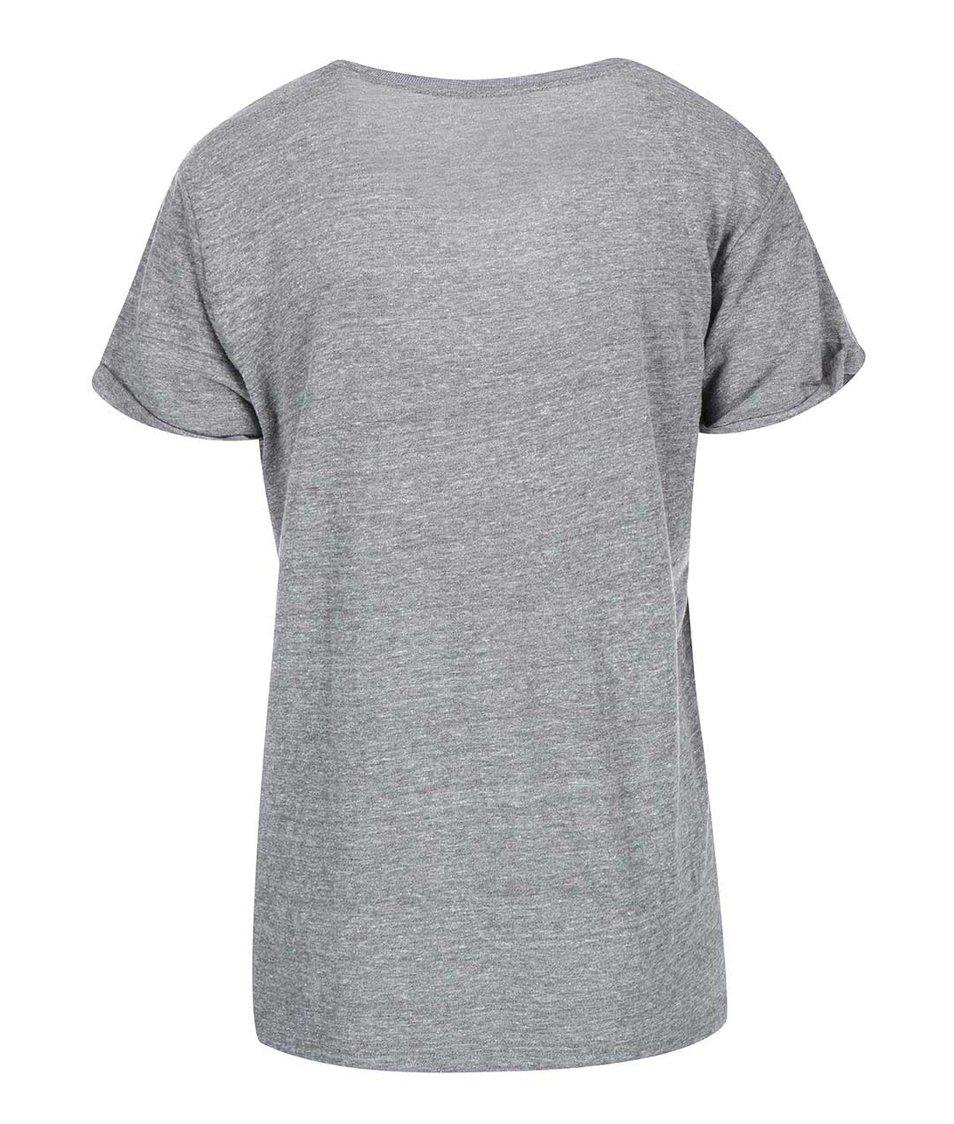 Šedé dámské tričko Vans