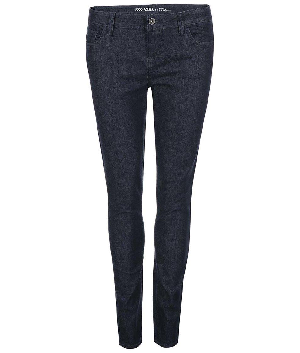 Tmavě modré dámské skinny džíny Vans Rinse