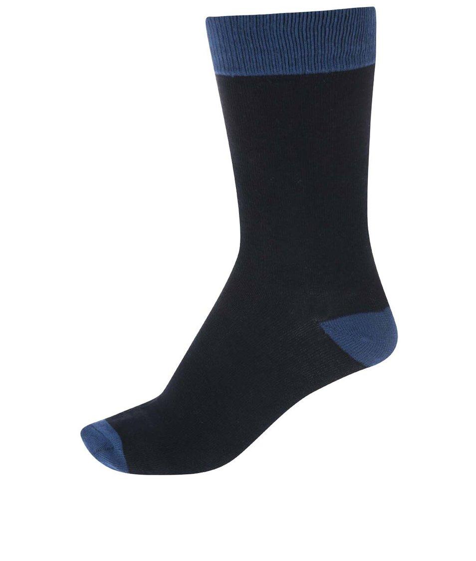Modré pánské ponožky !Solid Sepp