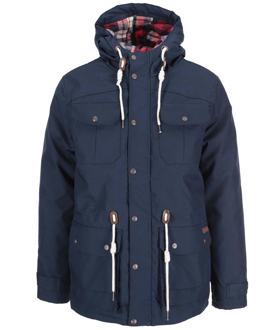 Tmavě modrá bunda s podšívkou !Solid Pisanio