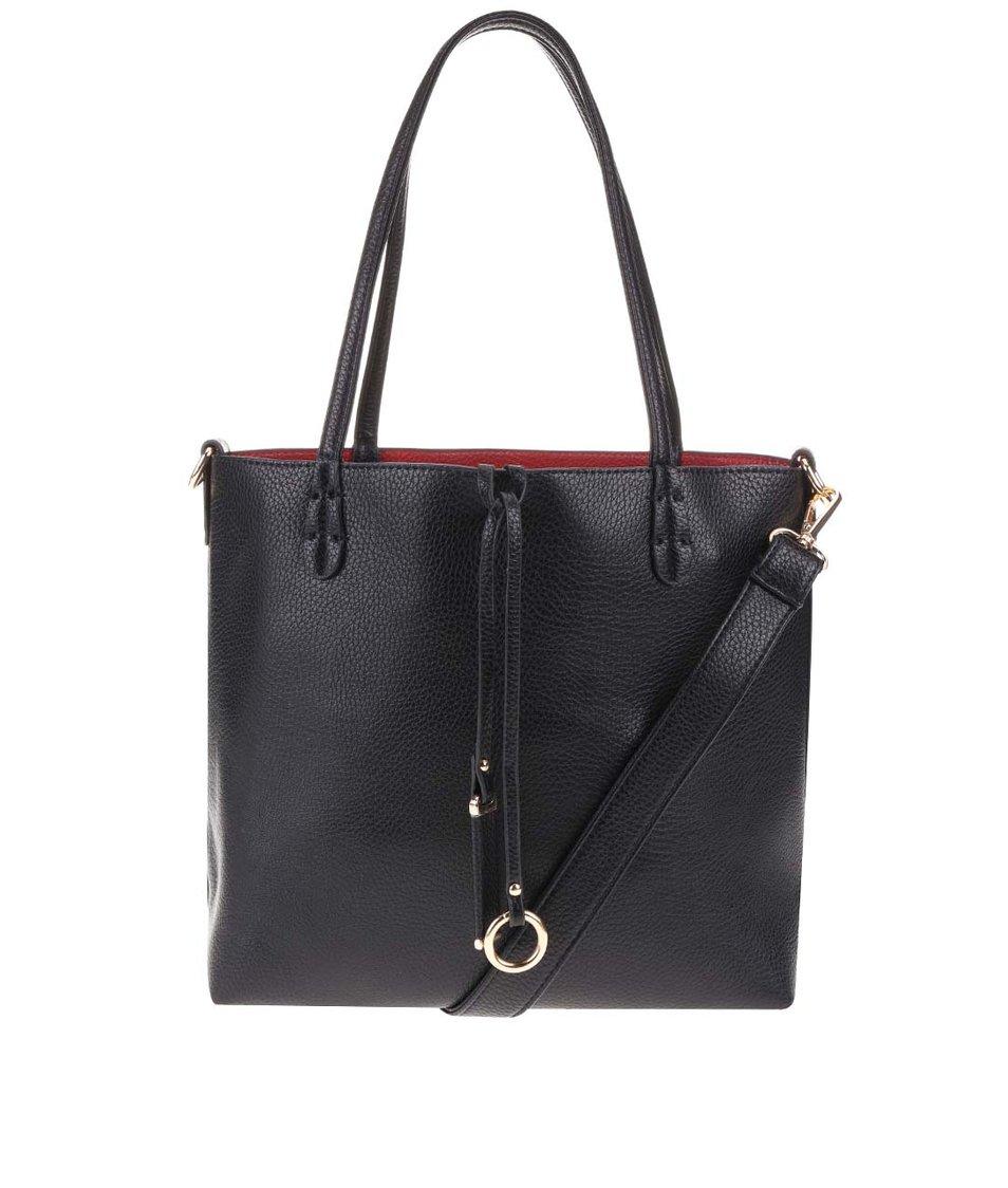 Černá menší kabelka 2v1 Kris-Ana