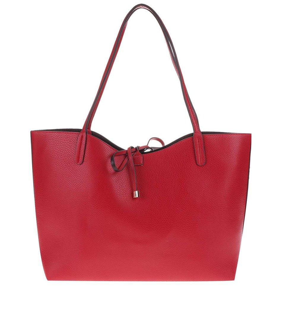 Červená velká kabelka 2v1 Kris-Ana