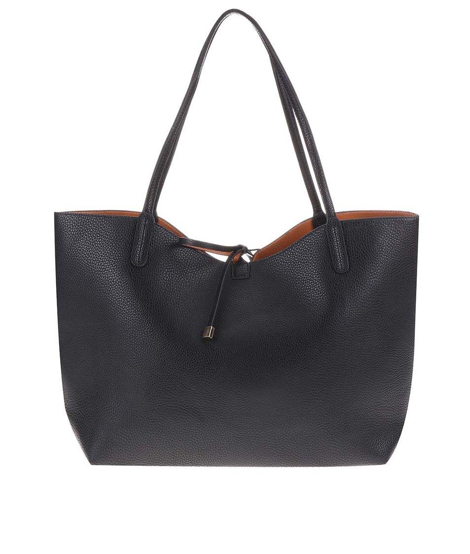 Černá velká kabelka 2v1 Kris-Ana