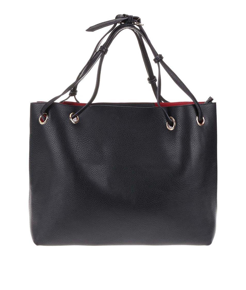 Černá kabelka s psaníčkem 2v1 Kris-Ana