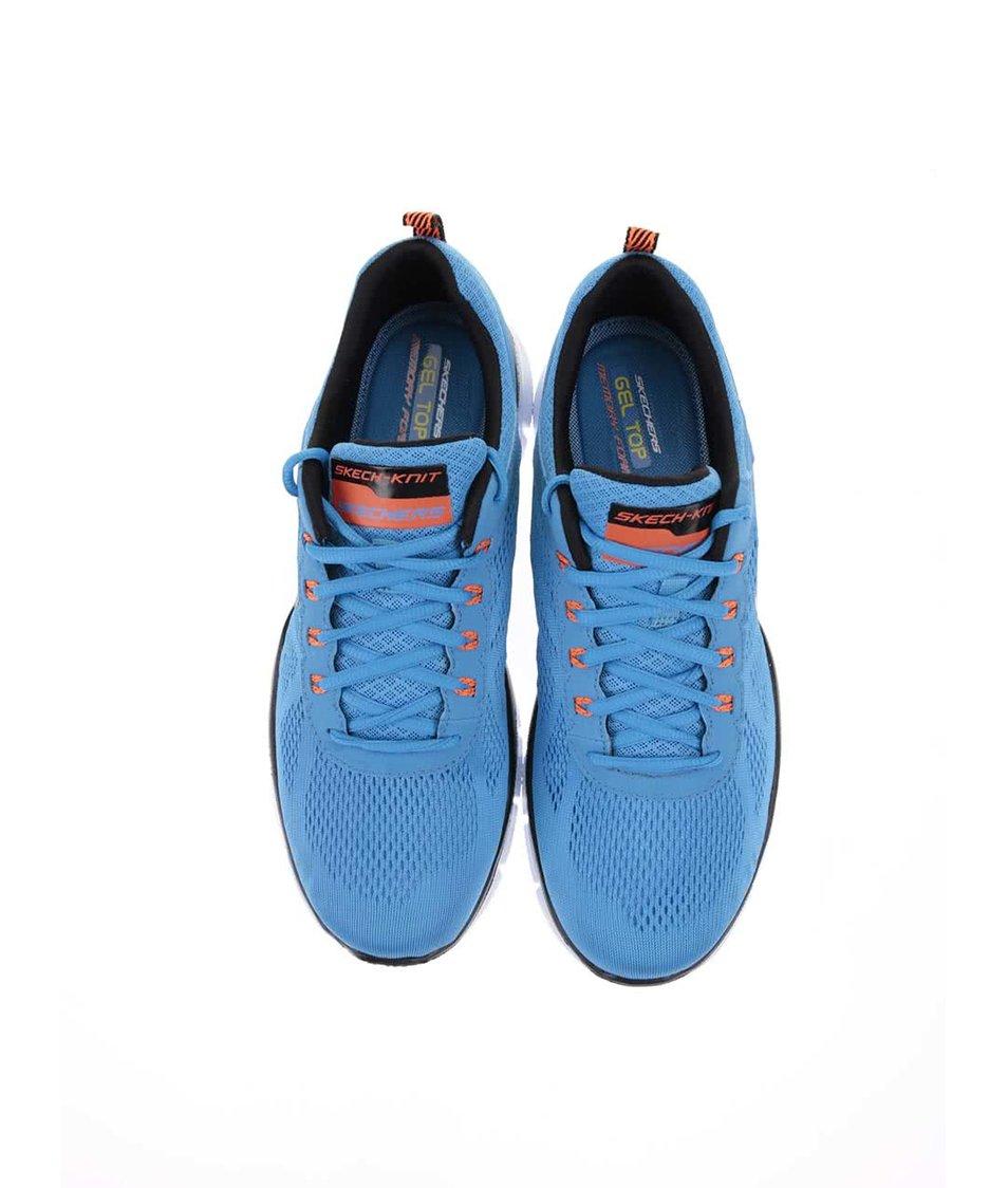 Modré pánské tenisky Skechers Equalizer - Vánoční HIT!  bbcf87ad90