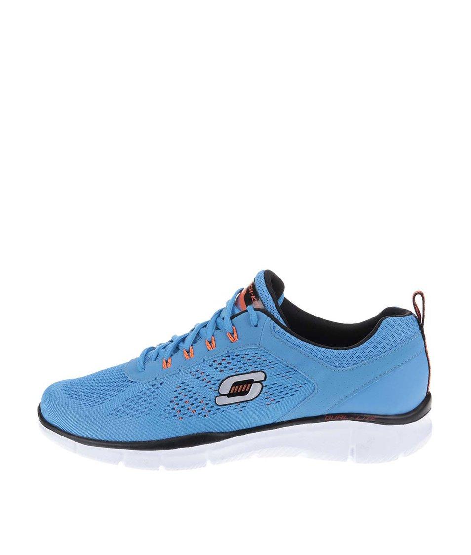 Modré pánské tenisky Skechers Equalizer