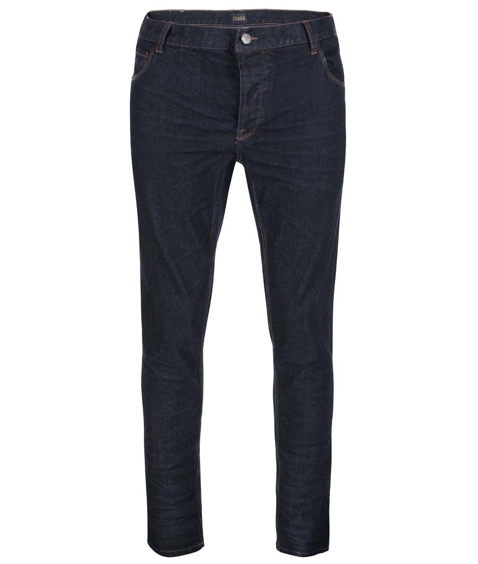 Tmavě modré džíny !Solid Joy