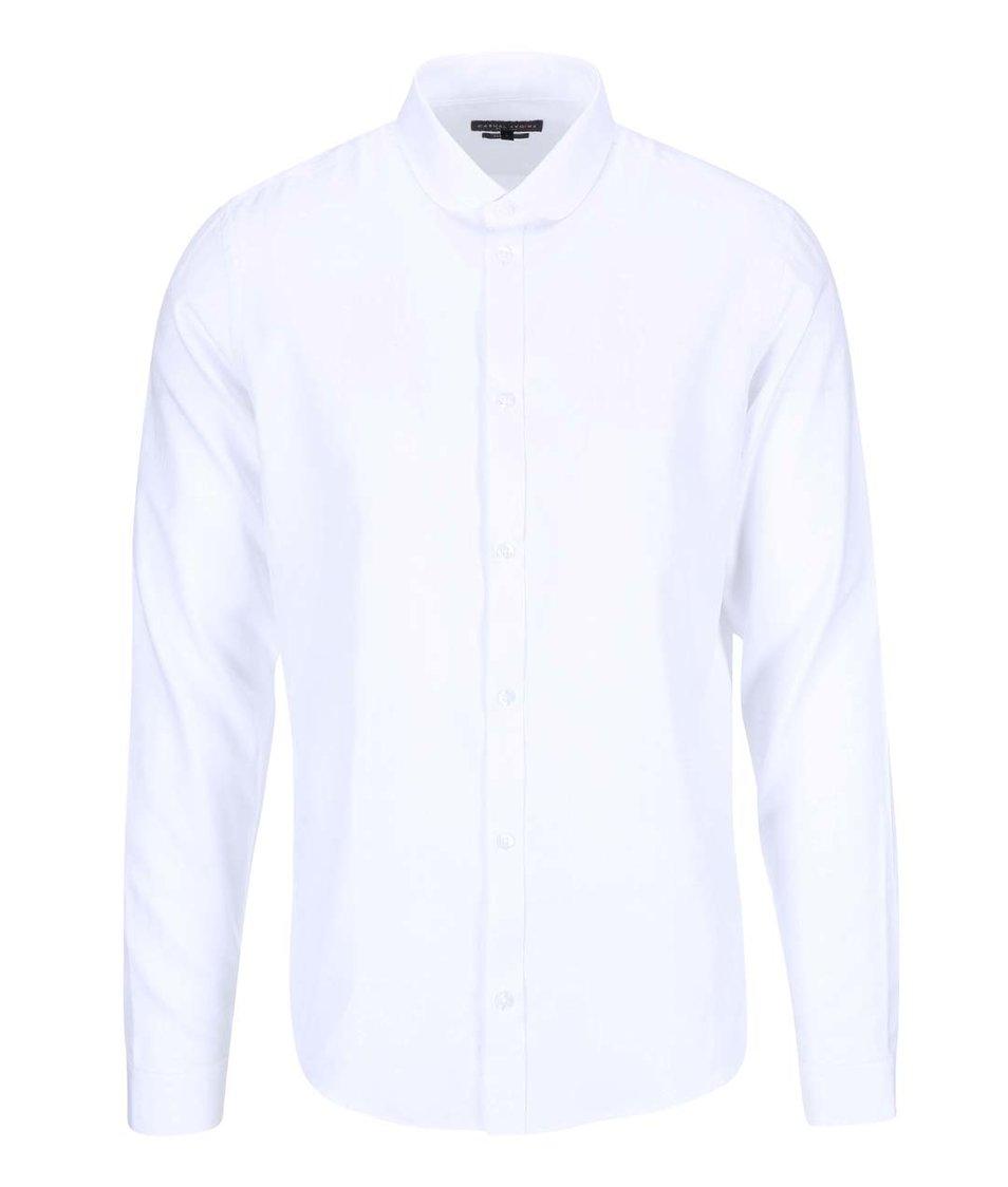 Bílá košile s jemným vzorem Casual Friday by Blend