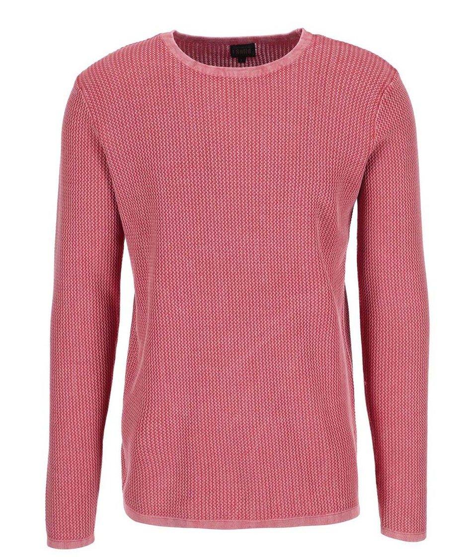 Tmavě růžový svetr !Solid Stanley