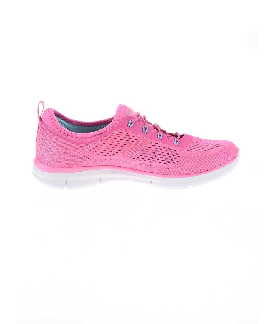 Neonově růžové dámské sportovní tenisky Skechers Harmony Neonově růžové dámské  sportovní tenisky Skechers Harmony ... 85d61348e5