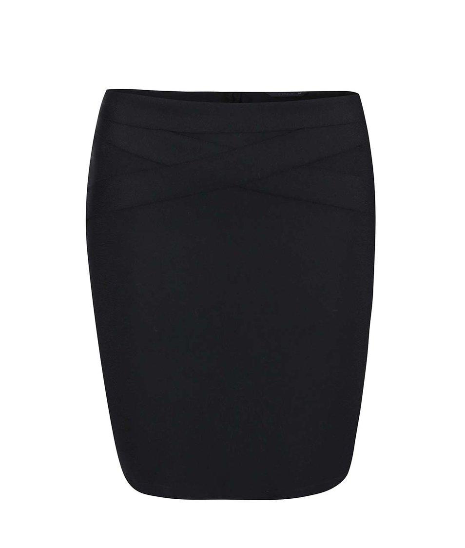 Černá úzká sukně ONLY Fit