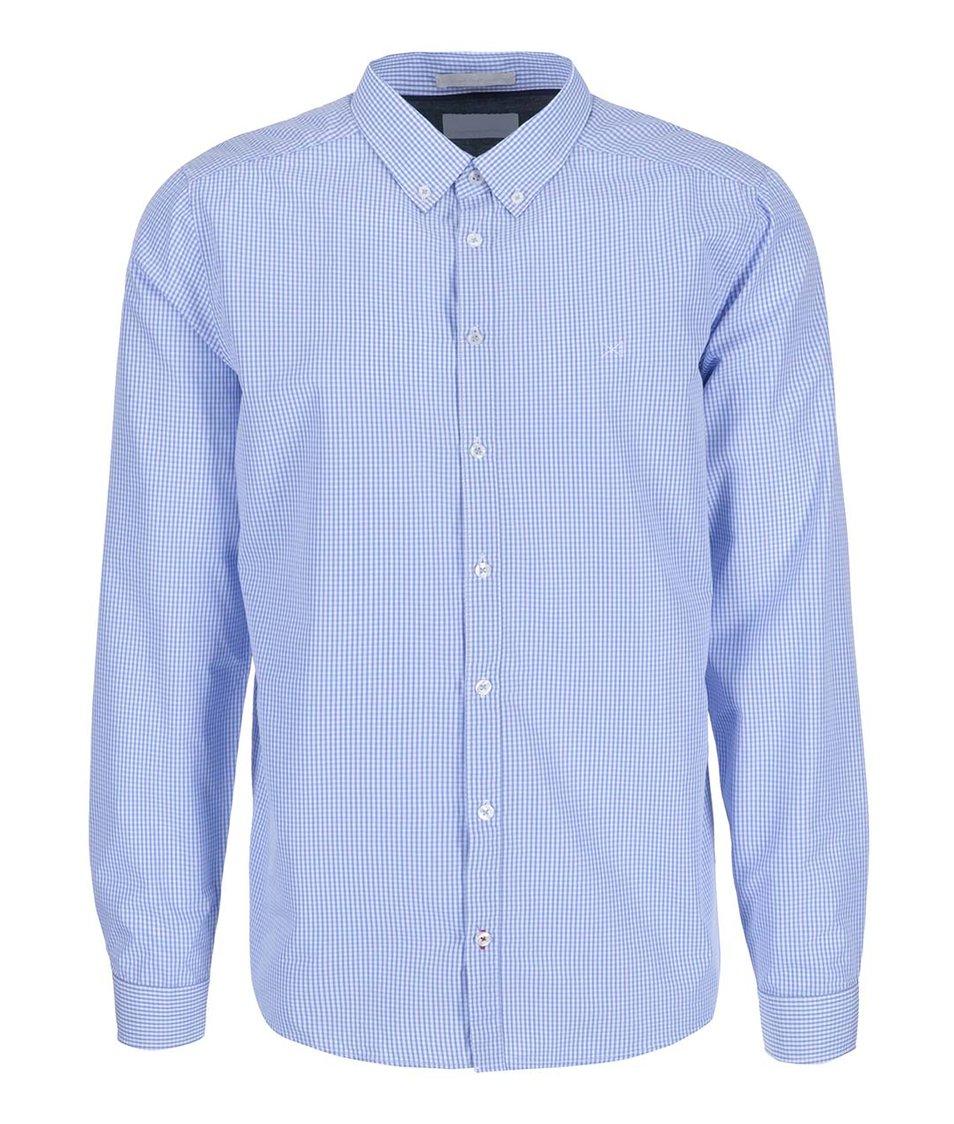 Bílo-modrá kostkovaná košile Tailored & Originals Fullham Check