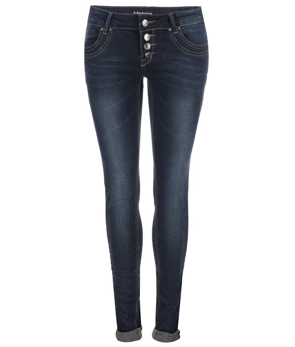 Tmavě modré džíny Madonna Gila Jog