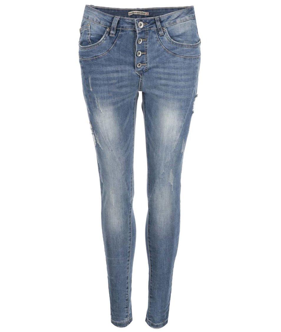 Modré džíny Madonna Eike Baggy