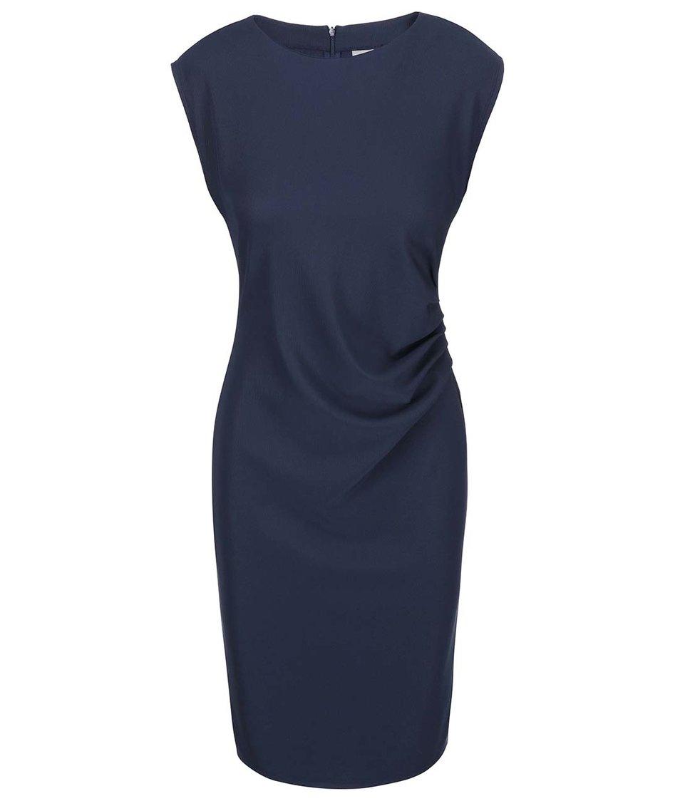 Tmavě modré šaty Vero Moda Jonie