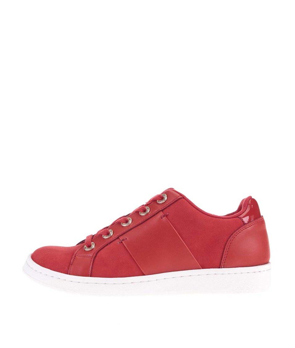 Červené tenisky s bílou podrážkou ALDO Ellyn