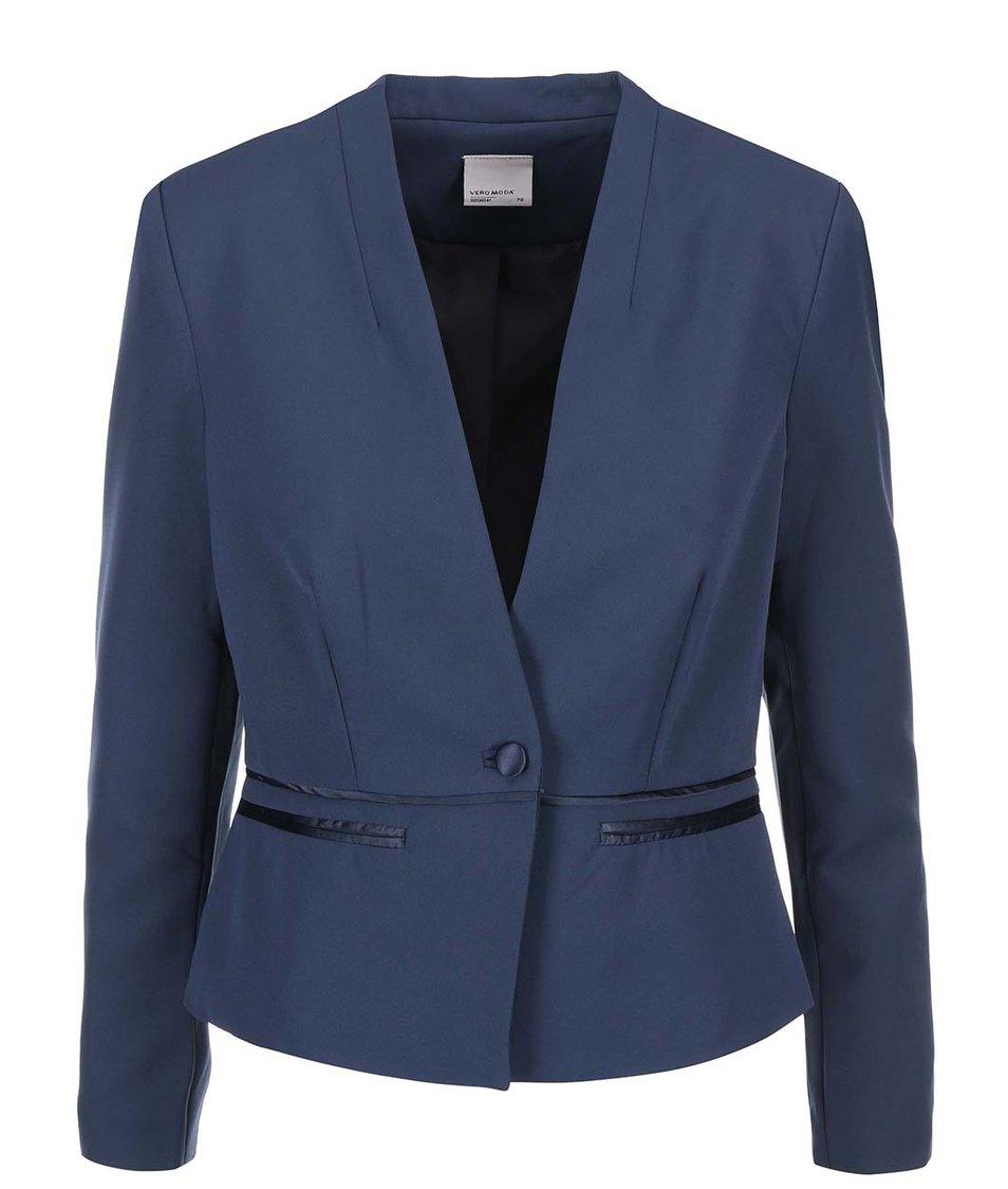 Tmavě modrý blejzr Vero Moda Tennie