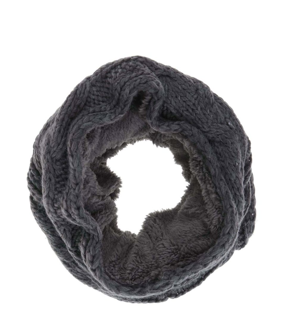 Tmavě šedý nákrčník Vero Moda Gry