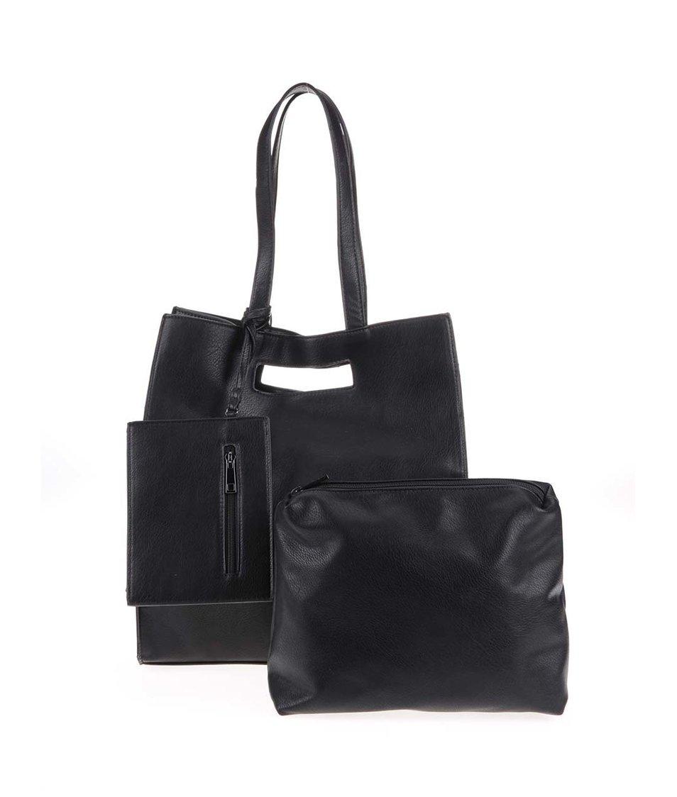 Černá kabelka 3v1 Vero Moda Loni
