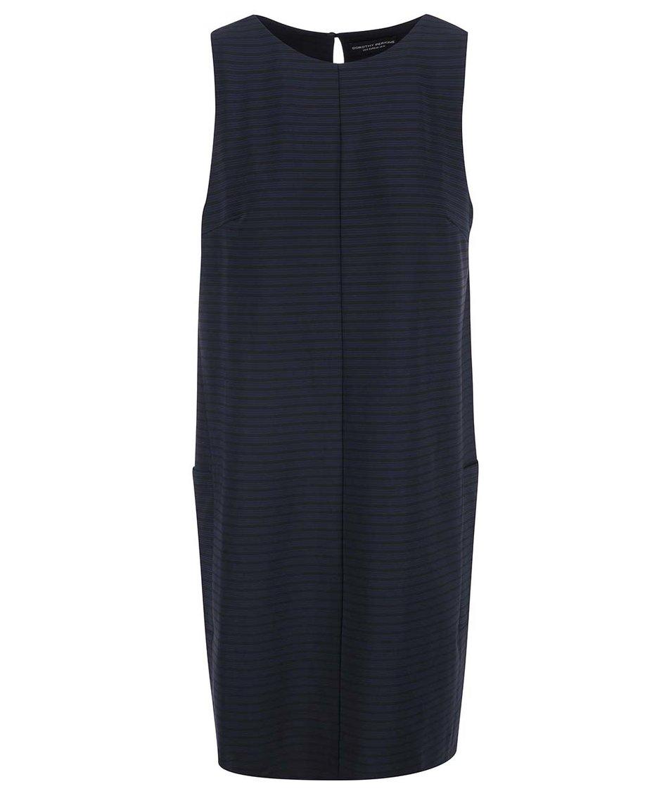 Tmavě modré šaty s kapsami Dorothy Perkins