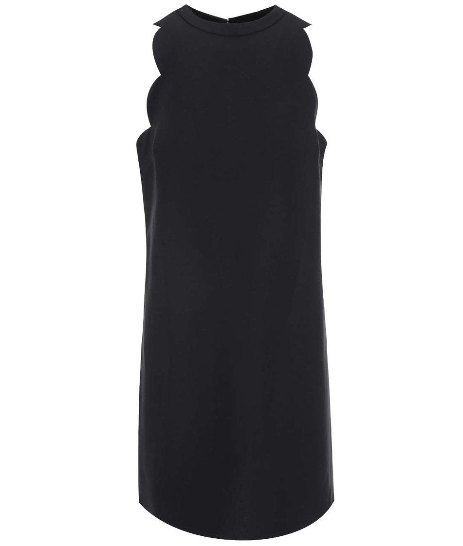 Černé šaty s vykrojenými rameny Dorothy Perkins