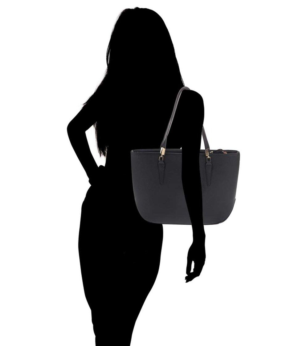 Černá obdelníková kabelka Dorothy Perkins