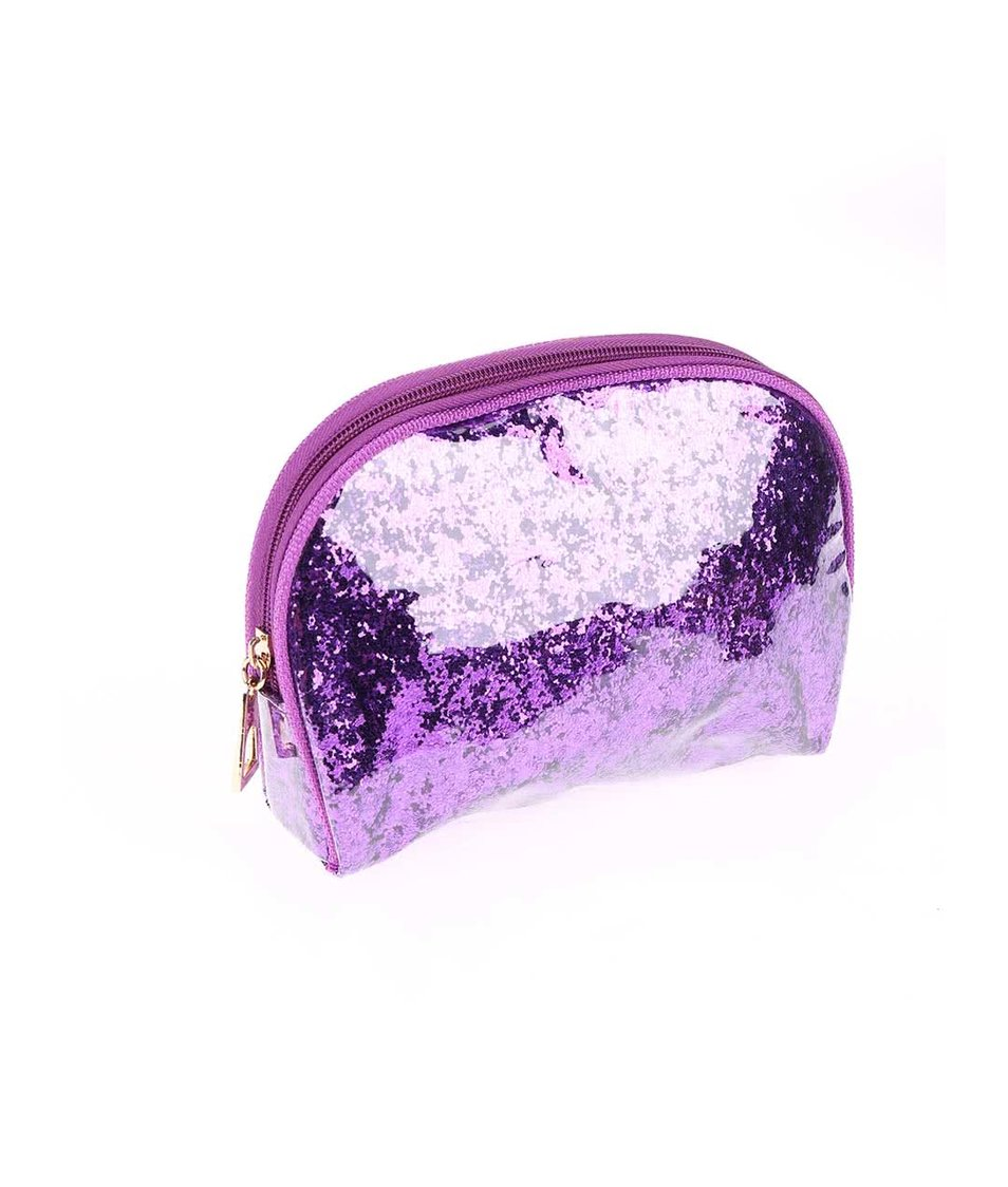 Sada tří fialových kosmetických taštiček Something Special by Moon