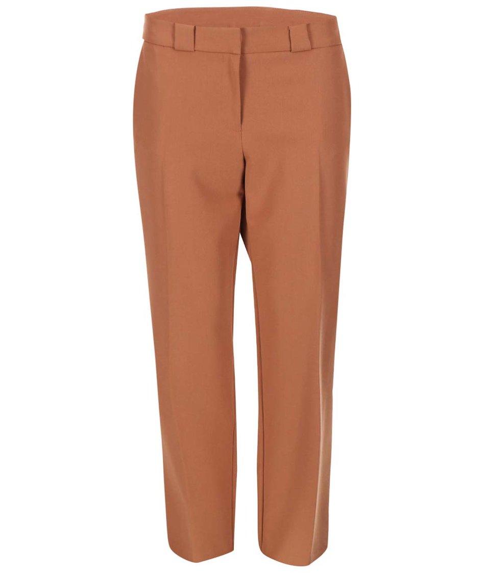Hnědé formální kalhoty Dorothy Perkins