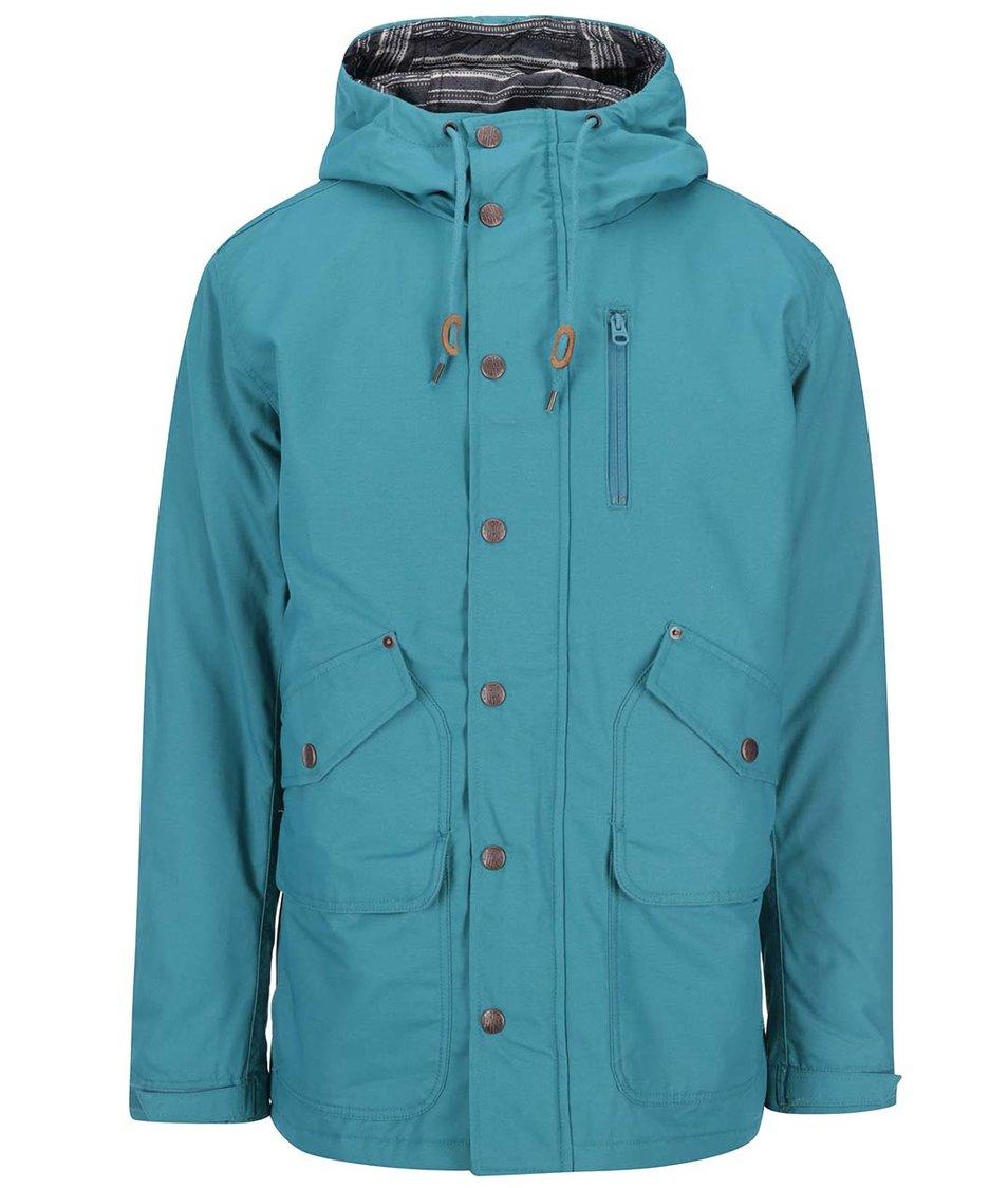 Modrá pánská bunda s kapsami Burton Sherman