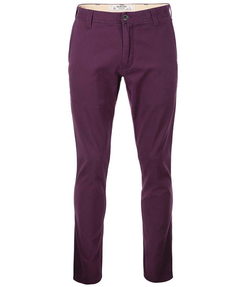 Fialové pánské kalhoty Burton Sawyer
