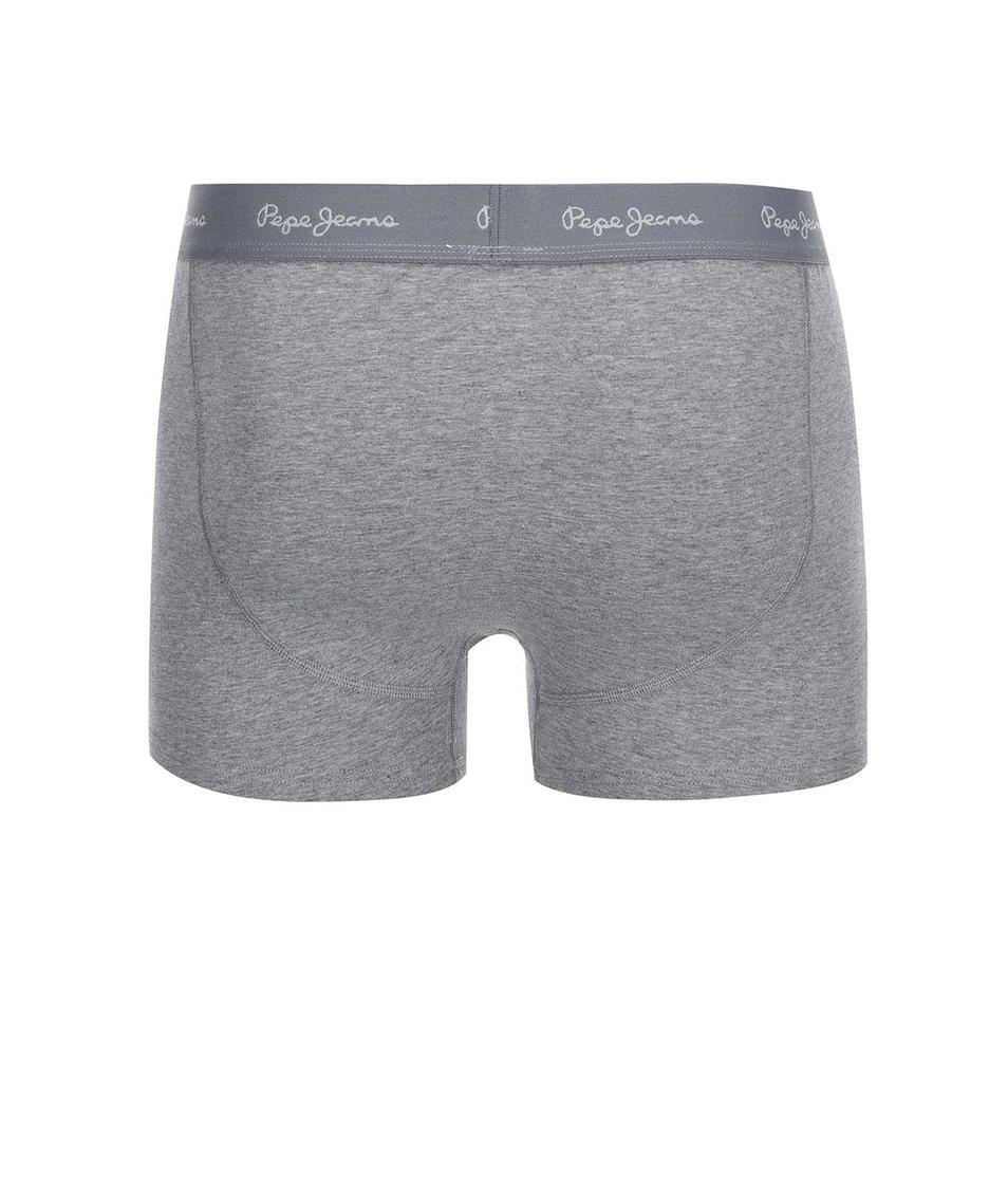 Sada dvou šedých boxerek Pepe Jeans Weston