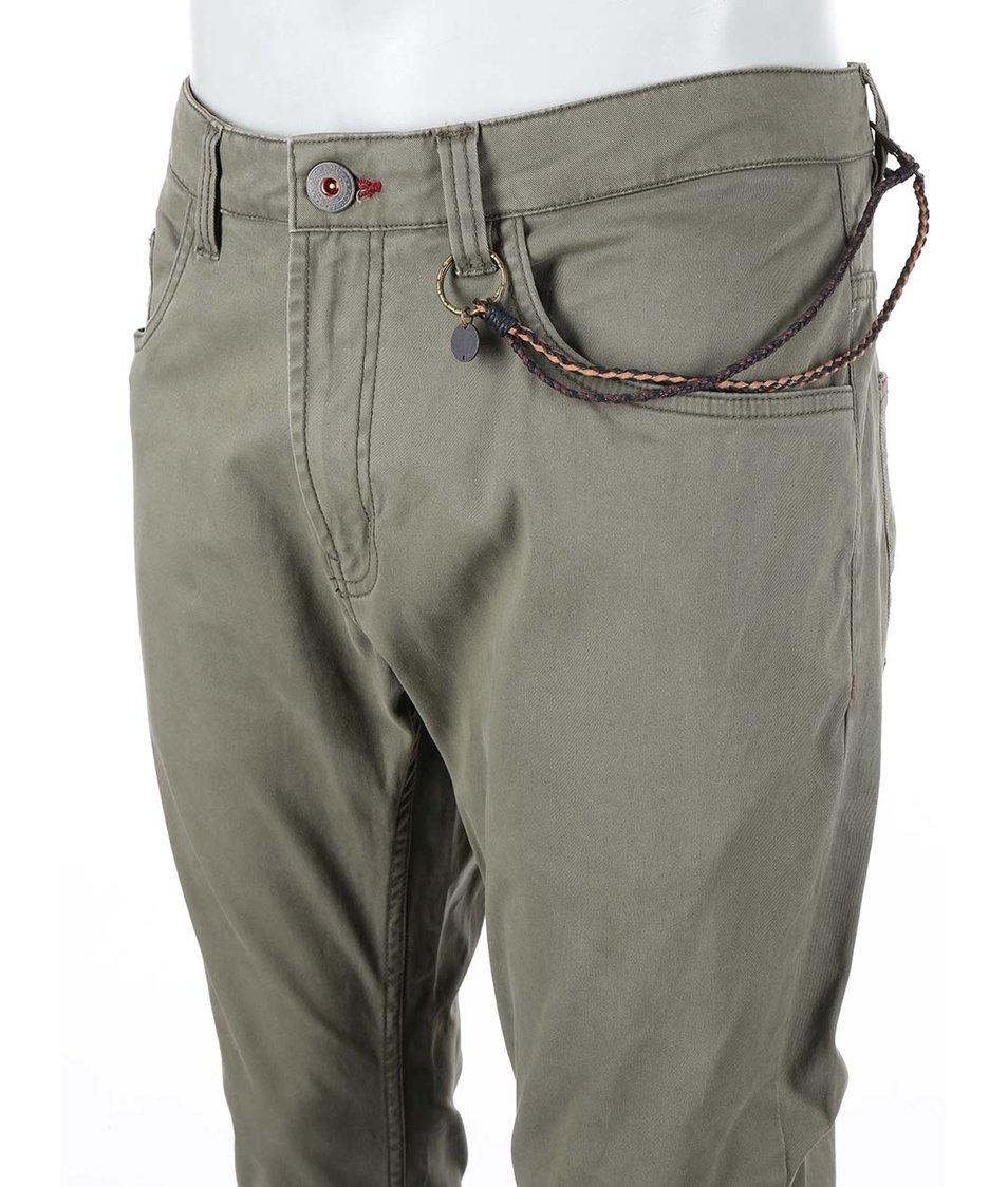 Zelené kalhoty Dstrezzed