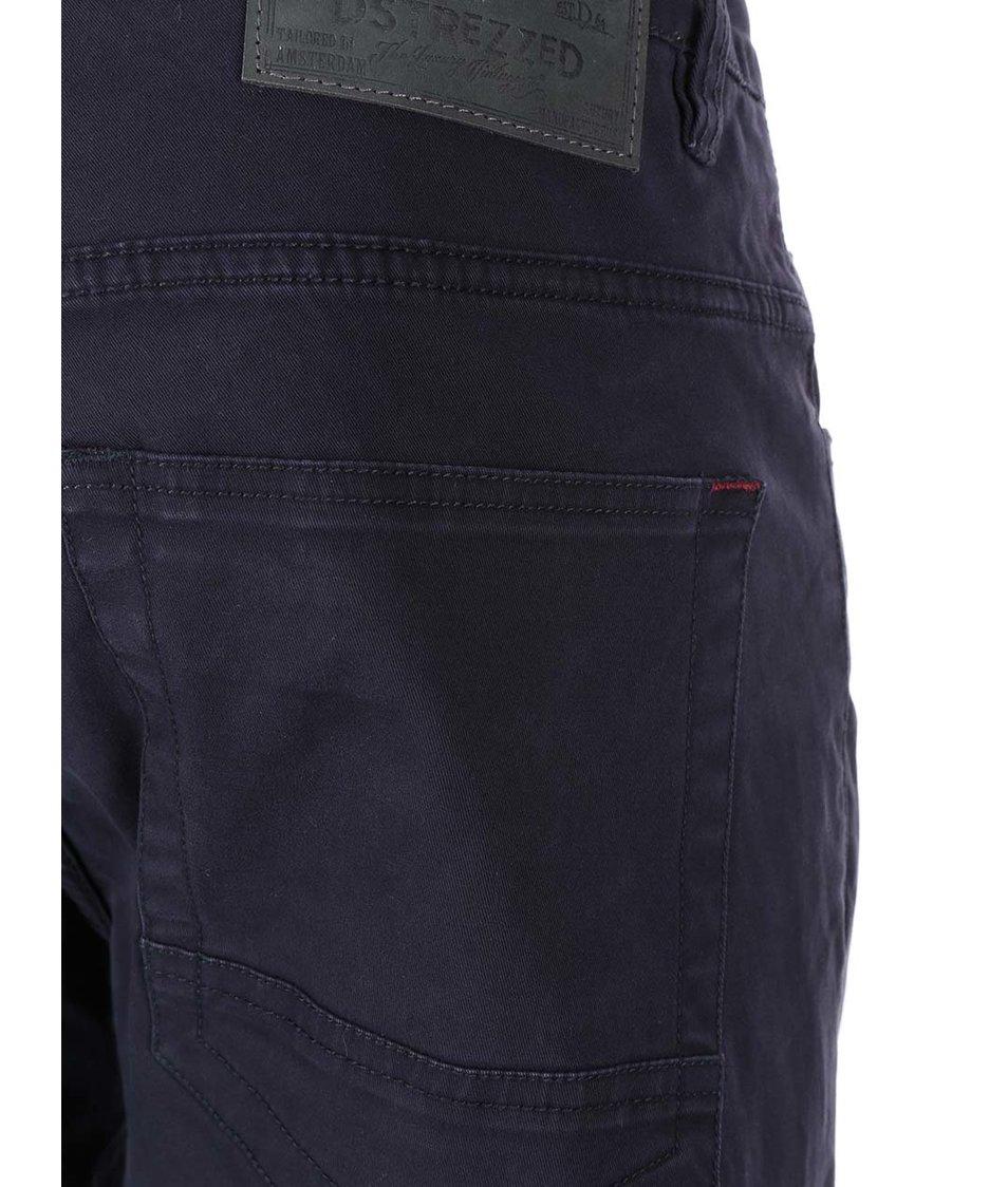 Tmavě modré kalhoty Dstrezzed