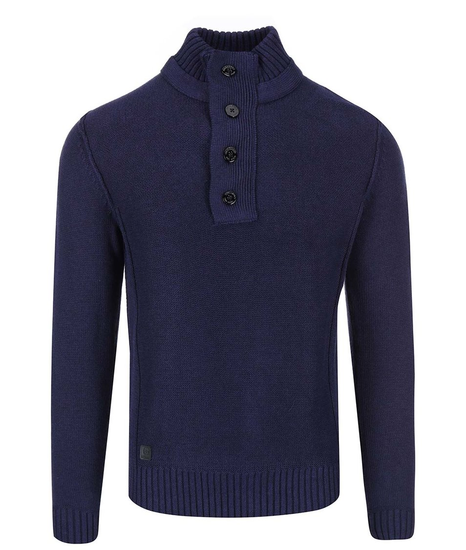 Tmavě modrý svetr Dstrezzed